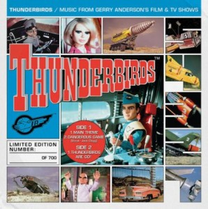 Five Gerry Anderson soundtrack EPs are being released by Silva Screen Records and Little Amber Fish for Record Store Day 2013