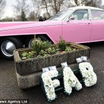 Lady Penelope's Pink Rolls Royce FAB 1 was in attendance