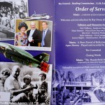 The Order of Service - Gerry Anderson's Funeral