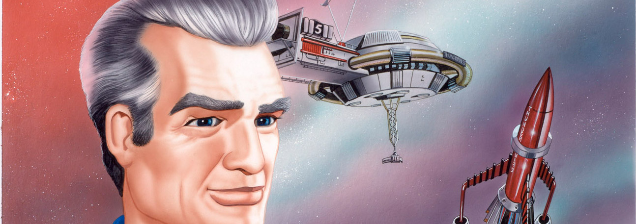 Andrew Skilleter original Gerry Anderson artwork.