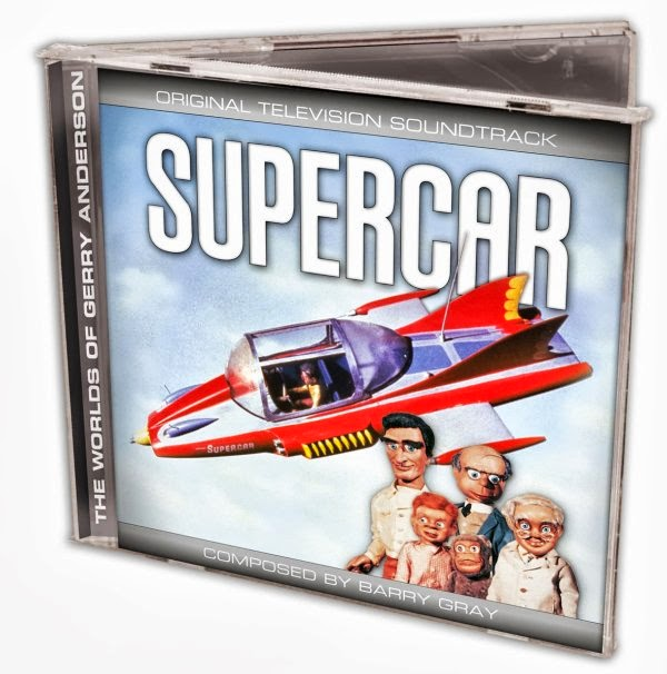 Supercar soundtrack CD
