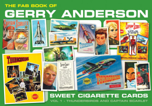 FAB Book of Gerry Anderson Sweet Cigarette Cards