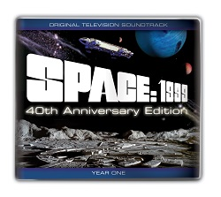 Space:1999 sountrack CD - available exclusively from Fanderson