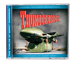 Thunderbirds sountrack CD - available exclusively from Fanderson