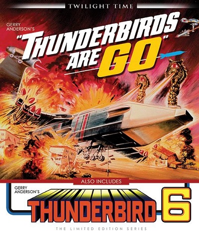 Thunderbirds Are Go and Thunderbird 6 on Blu-Ray