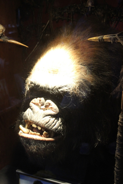 "A ""miniature"" of King Kong's head. Miniature in that it was about 700mm tall."