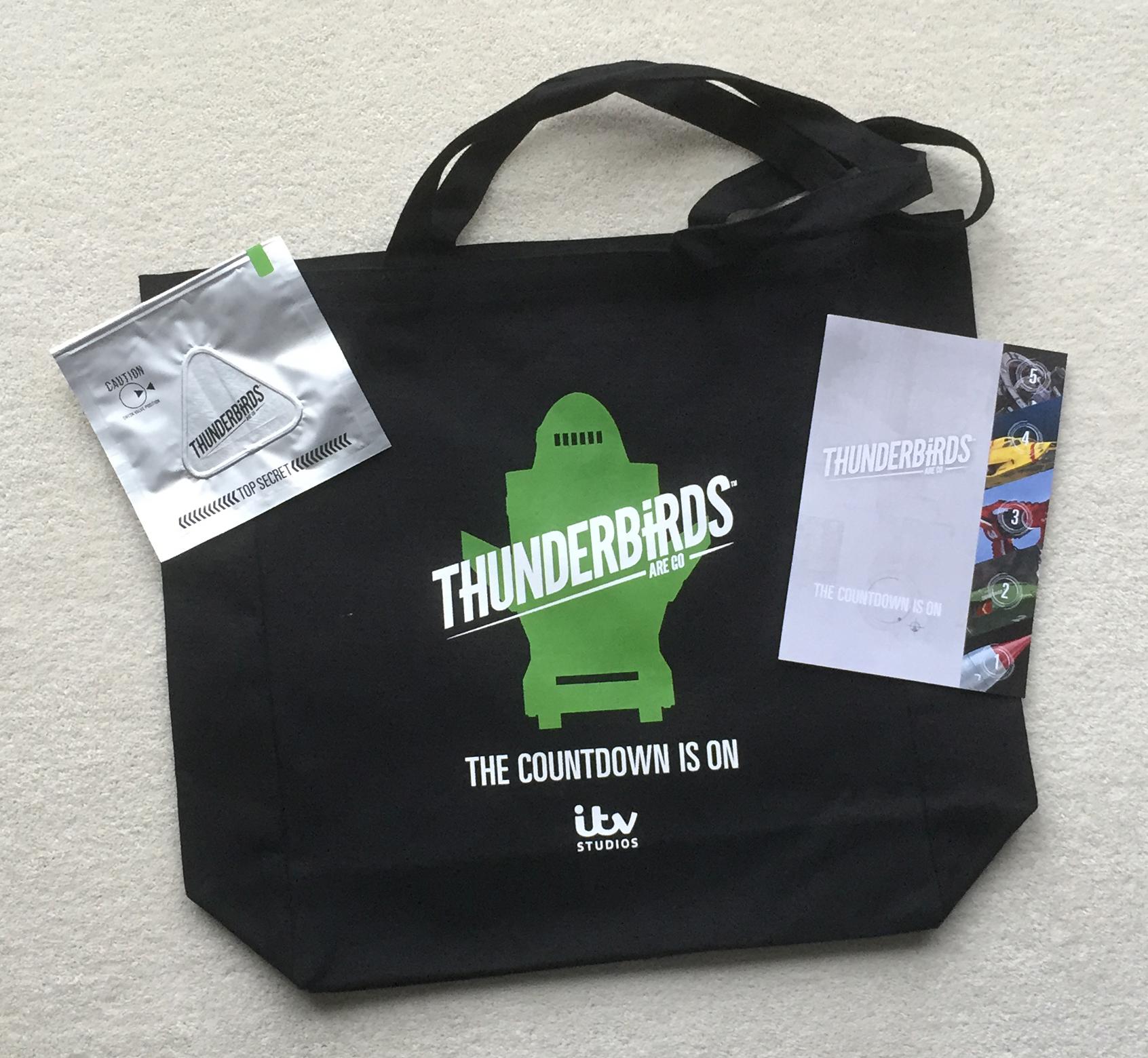 Thunderbird 2 bag