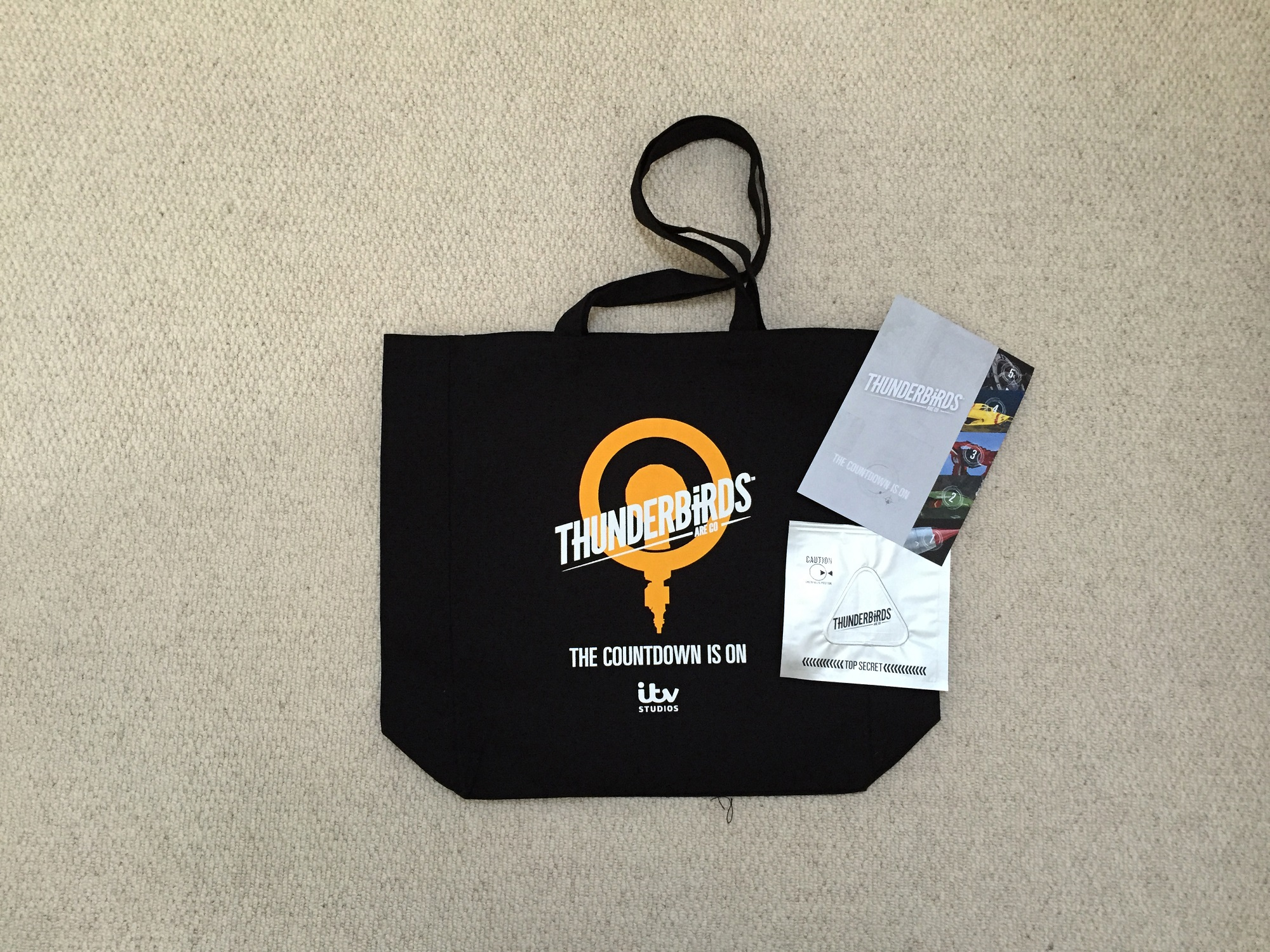Thuderbird 5-bag competition prize