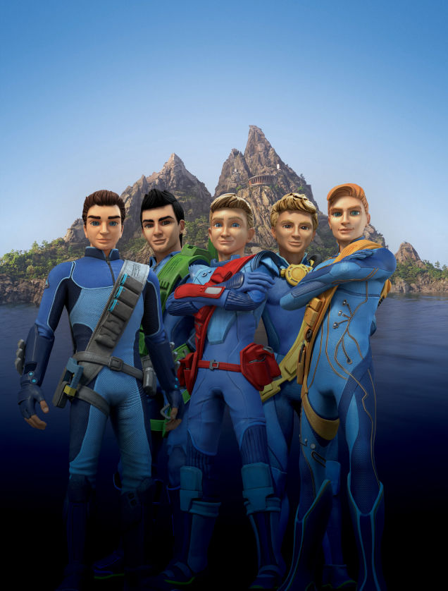 Thunderbirds Are Go! Tracy brothers revealed
