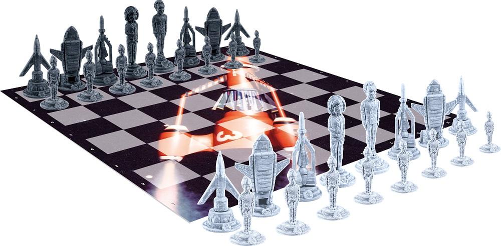 Thunderbirds chess set