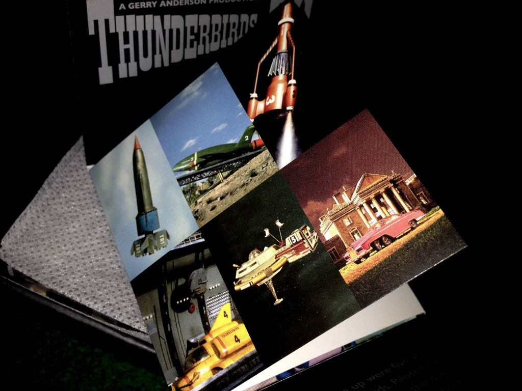 Thunderbirds 50th anniversary coin - booklet