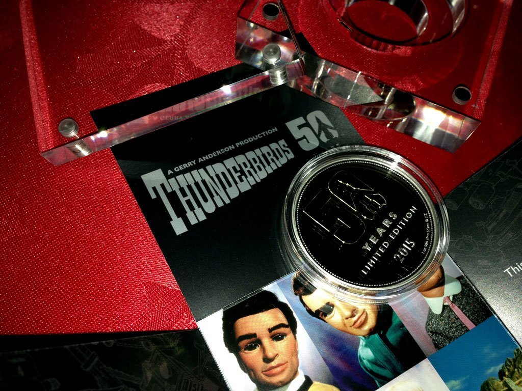Thunderbirds 50th anniversary coin - from New Zealand Mint