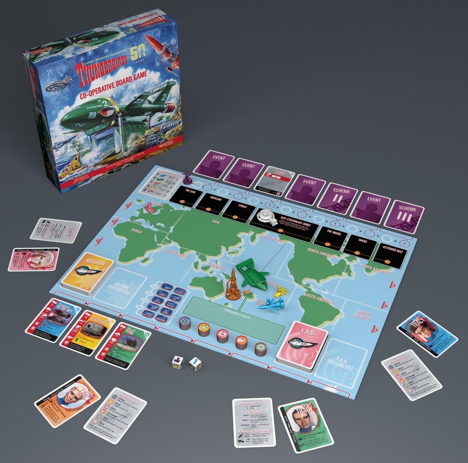 Thunderbird boardgame
