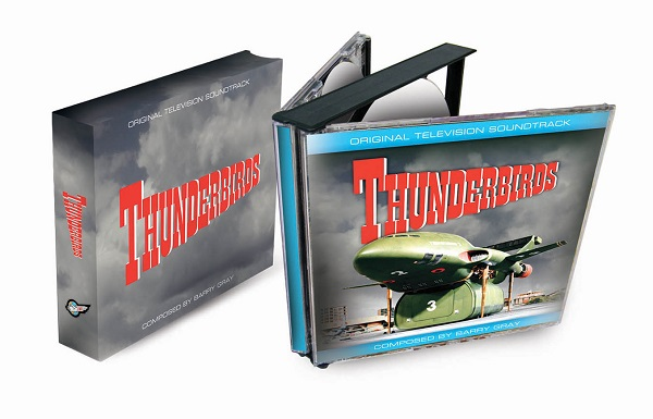 Thunderbirds soundtrack CD