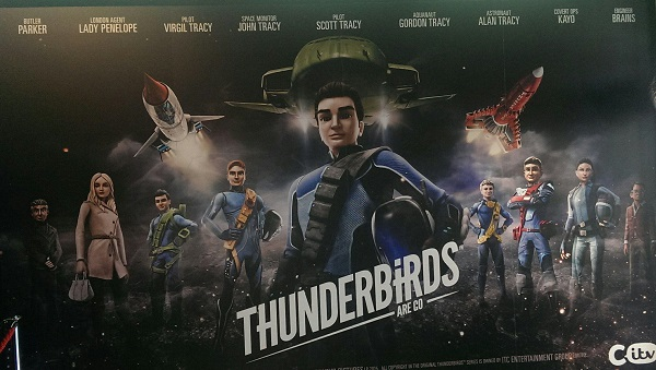 Thunderbirds Are Go screening