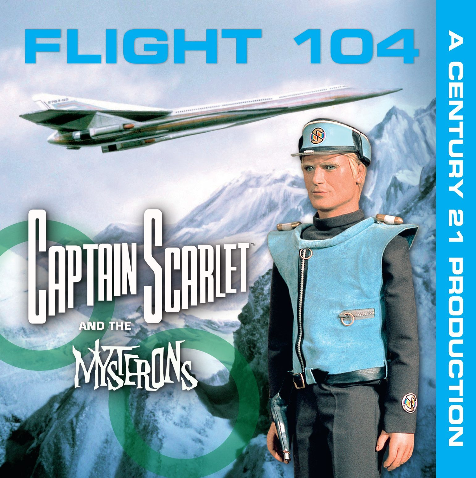 Captain Scarlet mini album Flight 104