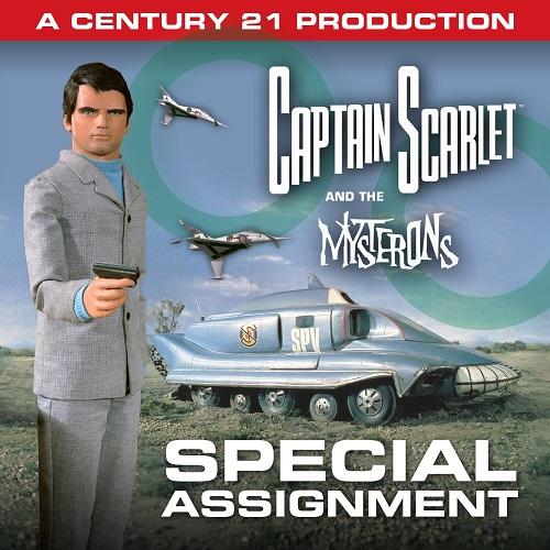 Captain Scarlet mini albums