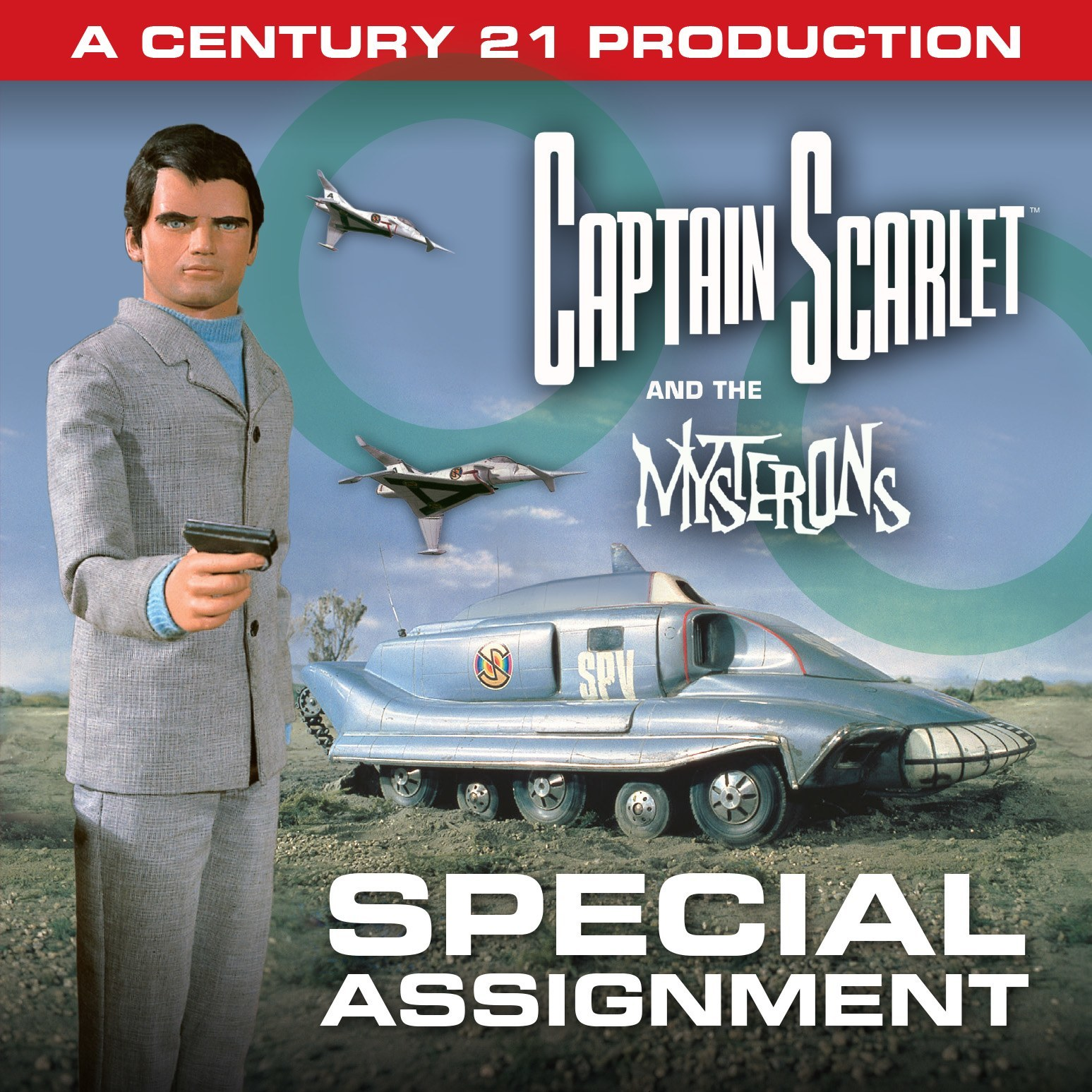 Captain Scarlet mini album - Big Ben Strikes Again