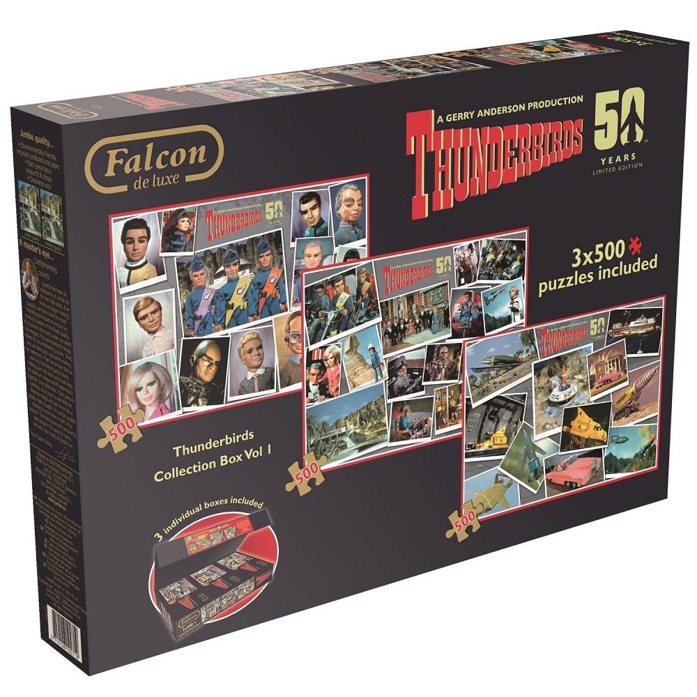 Thunderbirds Jumbo jigsaw