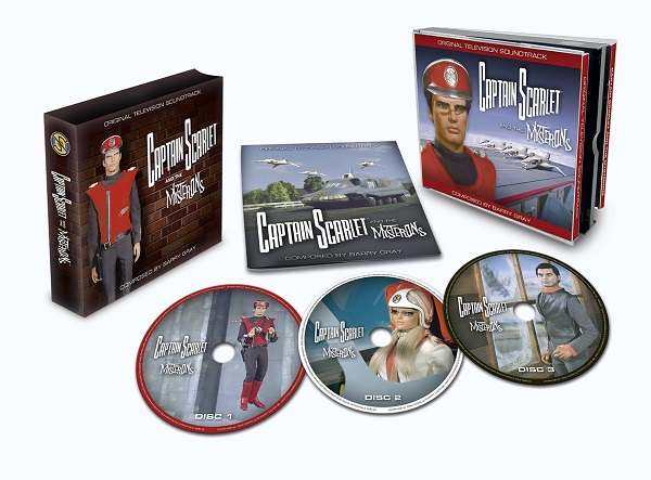 Captain Scarlet and the Mysterons soundtrack CD
