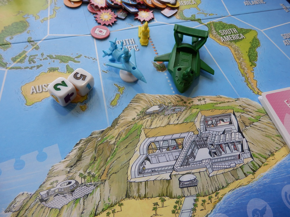 Thunderbirds co-operative boardgame
