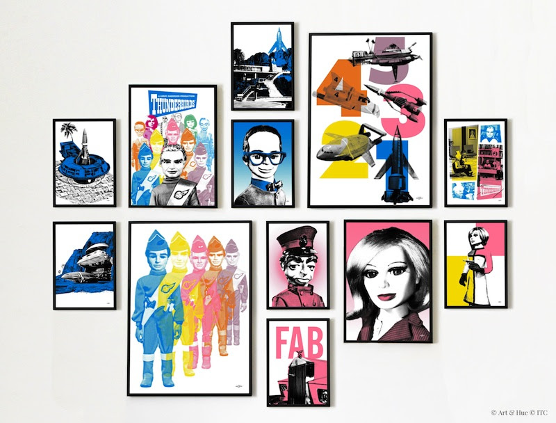 Thunderbirds pop art