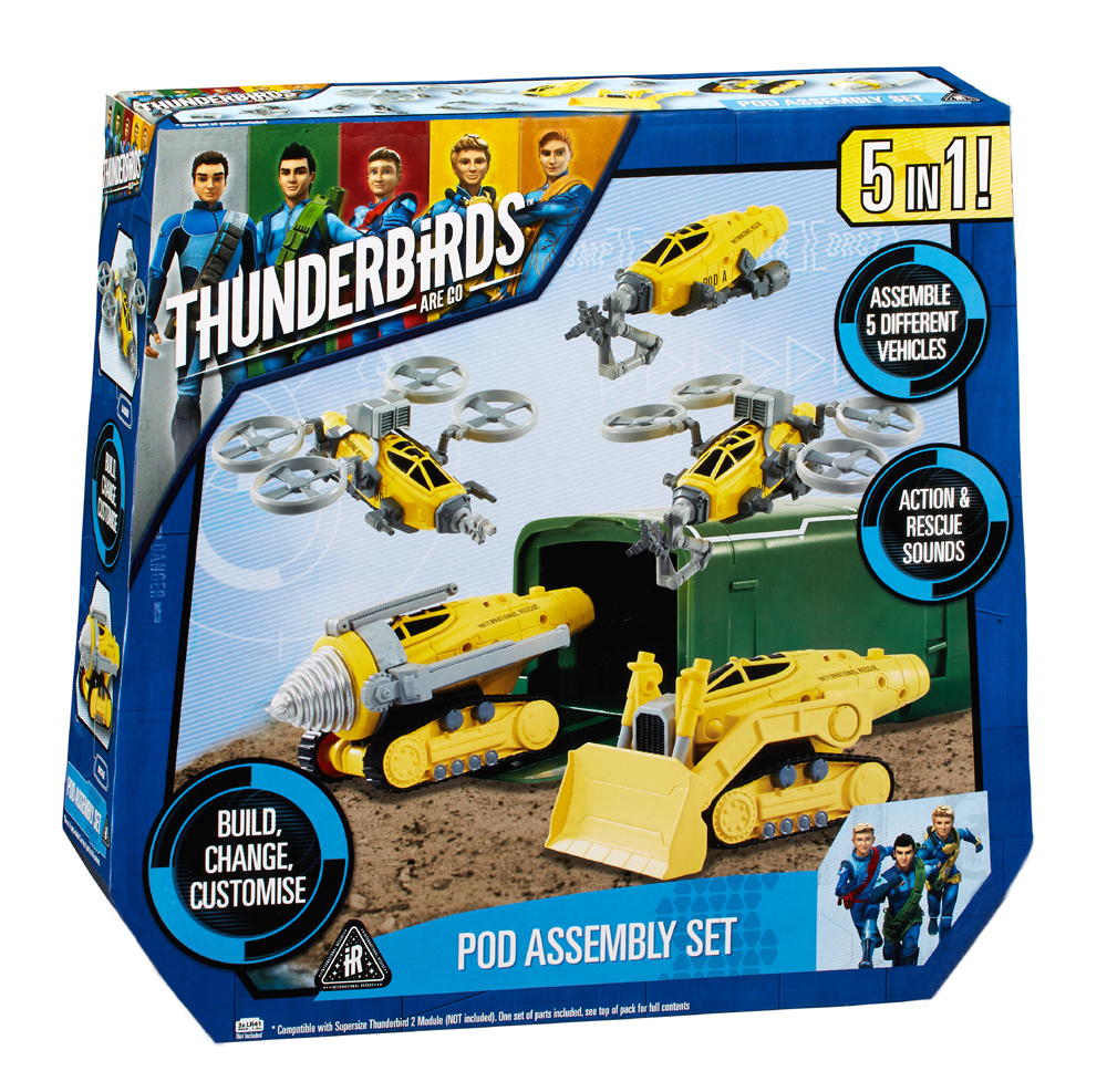 Thunderbirds Are Go pod set