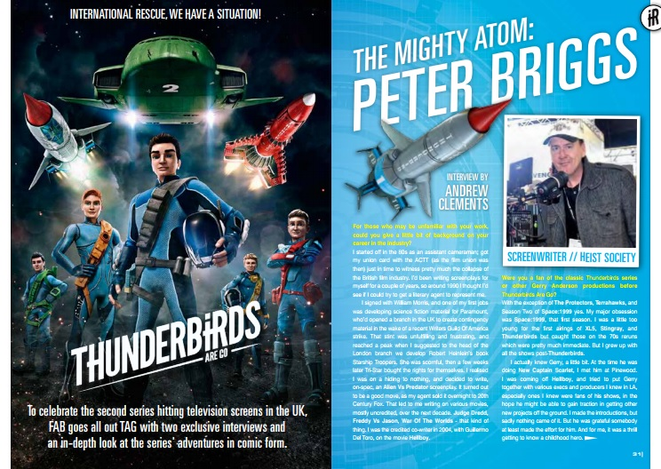 Thunderbirds are go FAB 85