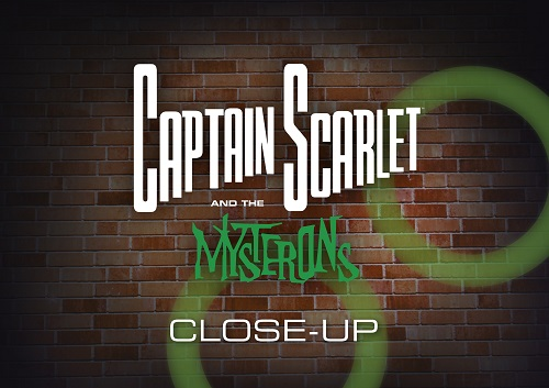 Captain Scarlet Close Up Book