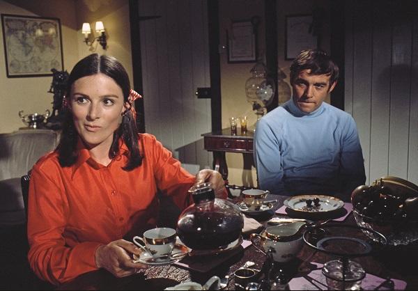 Susan Jameson and David Jayston