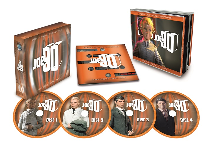 Joe 90 soundtrack CD