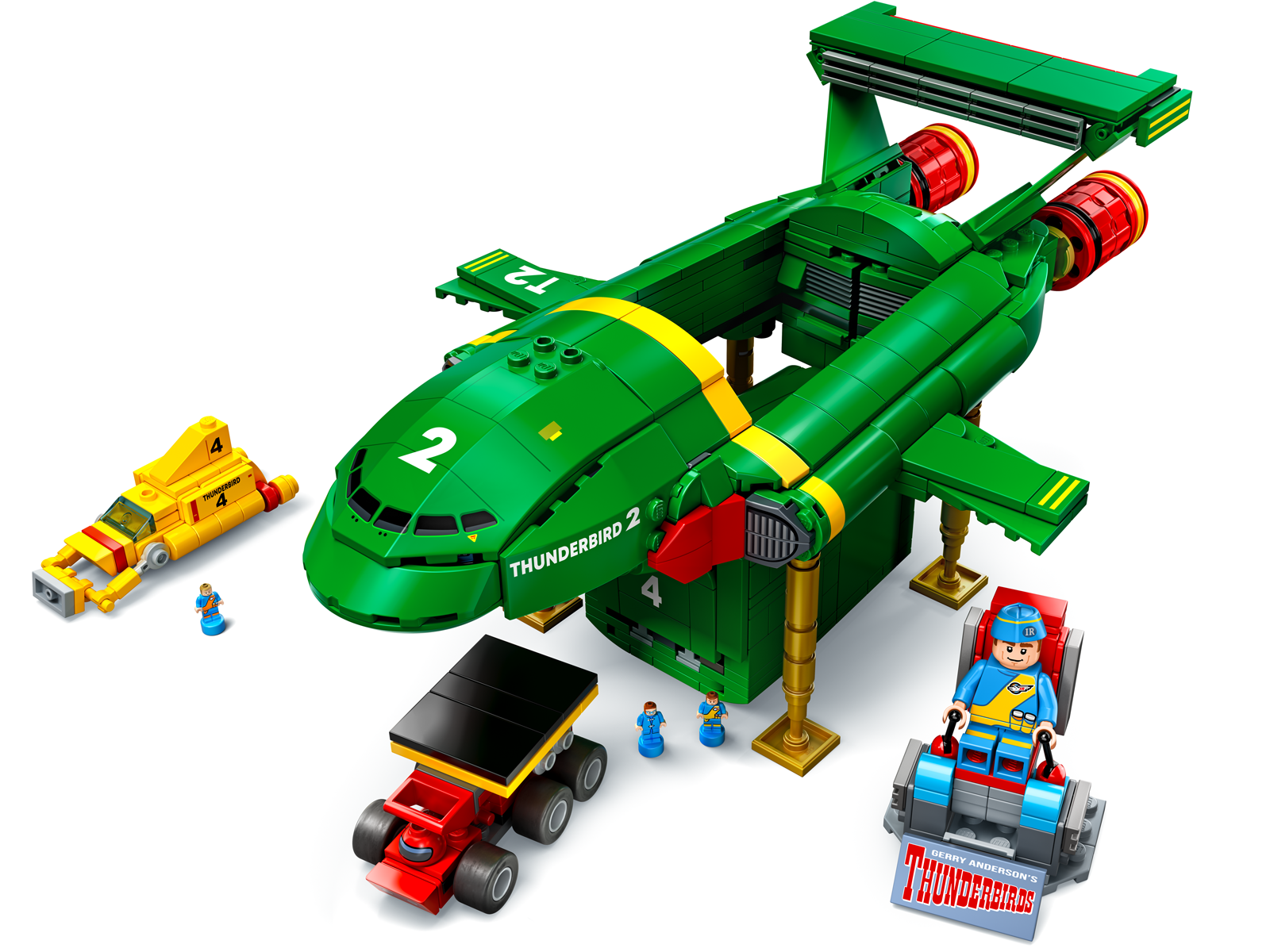 Lego Thunderbird 2? Just 300 More Supporters Needed!