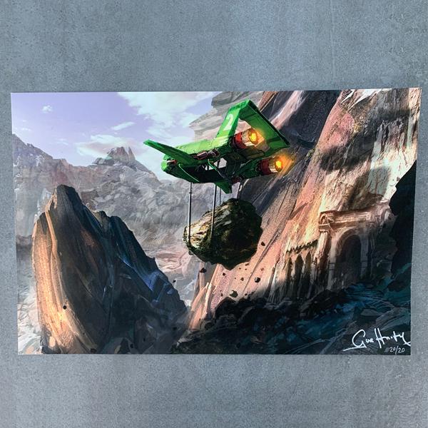 Supercelebration Treasure 8: Eagle Transporter model kit, Thunderbirds Are Go art print and more