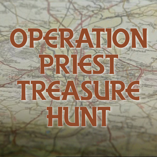 Join the Operation Priest treasure hunt!