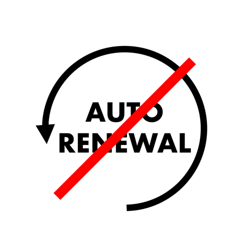 Membership auto-renewal – fix applied