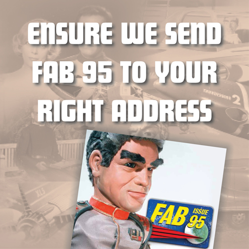 Ensure we send FAB 95 to your right address