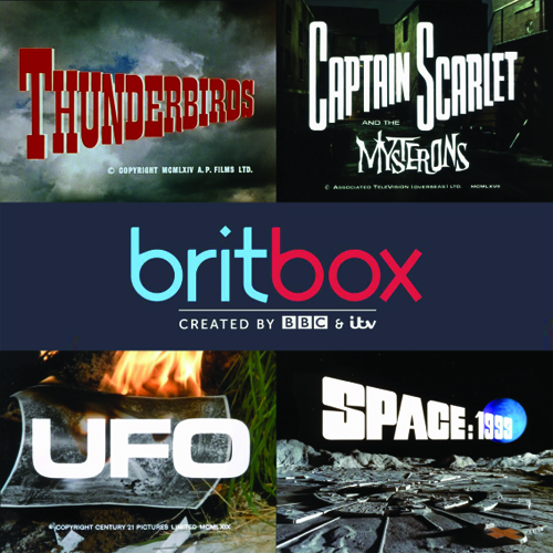 Thunderbirds, Captain Scarlet, UFO and Space:1999 on Britbox from 20th August