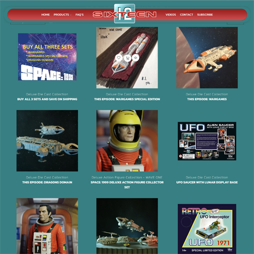 New UFO and Space:1999 models on pre-order