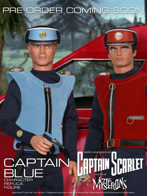 Replica Captain Blue coming soon