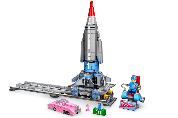Support Lego Ideas Thunderbird 1 too!