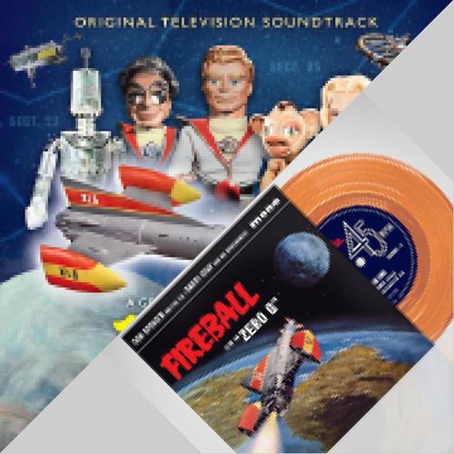 Fireball XL5 soundtrack CD, vinyl and 7″ single from Silva Screen