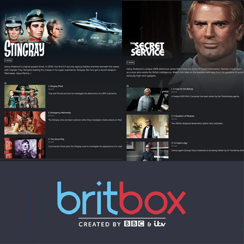 Stingray and The Secret Service added to Britbox