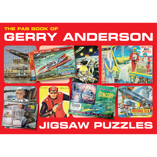 NEW! FAB Book of Gerry Anderson… Jigsaw Puzzles