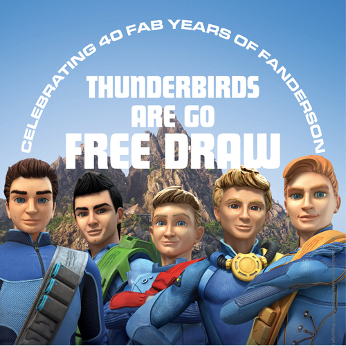 Thunderbirds Are Go free draw winners